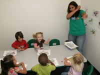 Blanca's 3-5 year old Spanish Class