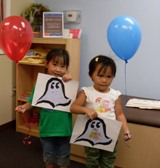 2 Girls in our Mandarin Program for Kids